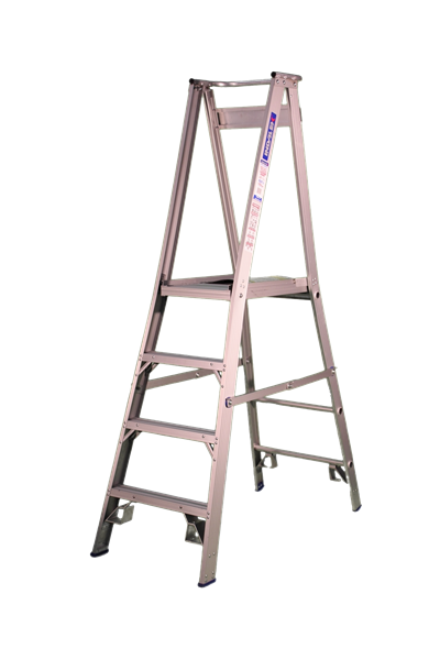 Pro Series Aluminium Platform Ladder 5ft - 2ft ( 1.5M - 0.6M )
